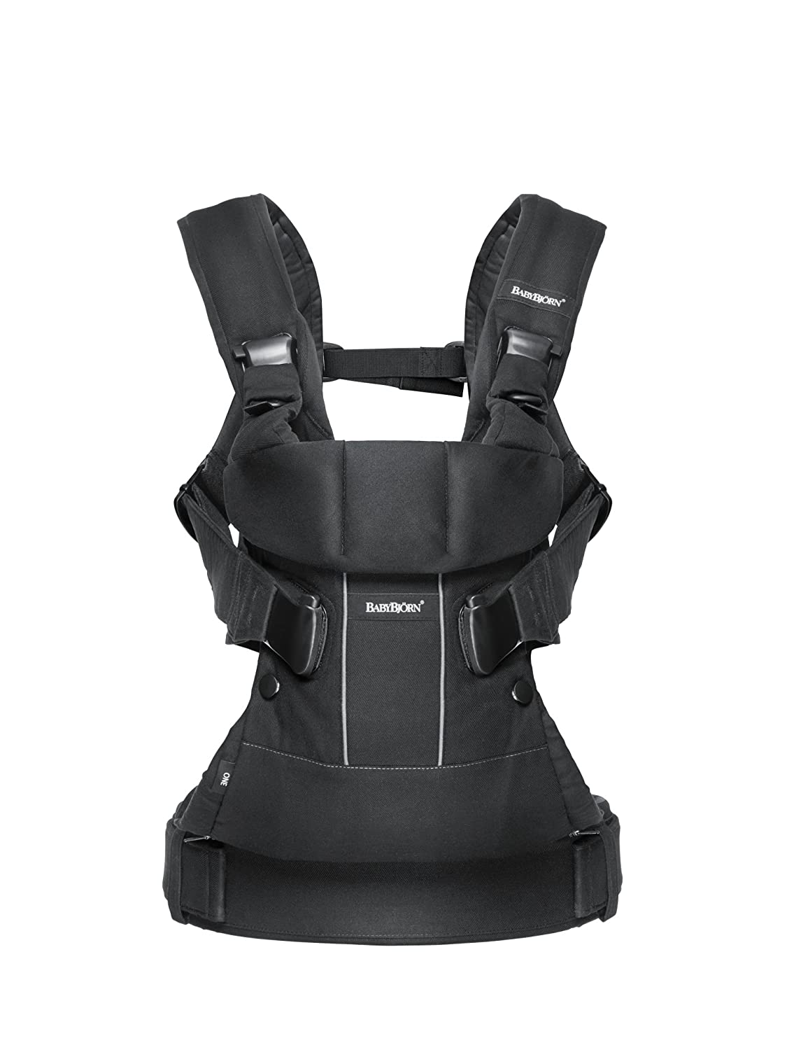 15dc42a1f03 Amazon.com   BABYBJORN Baby Carrier One - Black