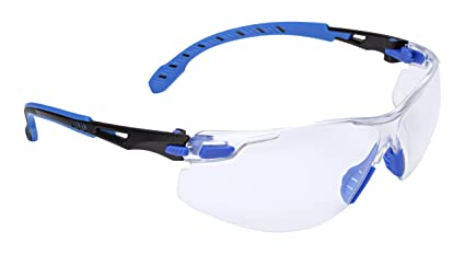 d283f38e5f Amazon.com  3M Solus 1000 Series Protective Eyewear with Clear ...
