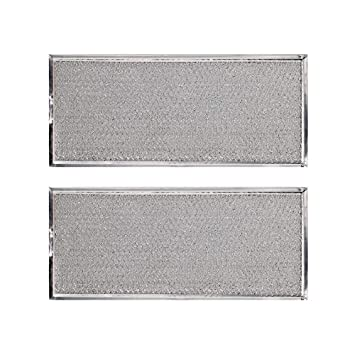 KONDUONE 2 unidades de filtro W10208631A para horno microondas ...
