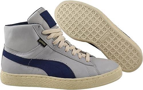 Puma Basket Mid GTX Gore Tex Herren Schuhe Grau Sneaker Fashion Turnschuhe