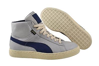 Grau Sneaker Basket Gtx Fashion Mid Tex Turnschuhe Herren Gore Schuhe Puma nOPX8wk0