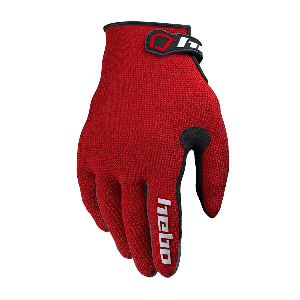 HEBO HE1156RM Trial Team II Handschuhe Rot Gr/ö/ße M