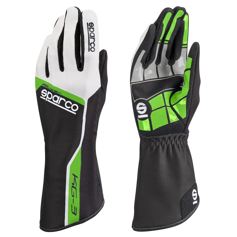 Sparco 00255306VF Guantes, Verde, 06 S00255306VF