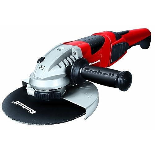 Einhell TE AG 230 2000 Amoladora 2000 W 230 V Rojo 230mm arranque suave asidero giratorio cubierta protectora ref 4430840