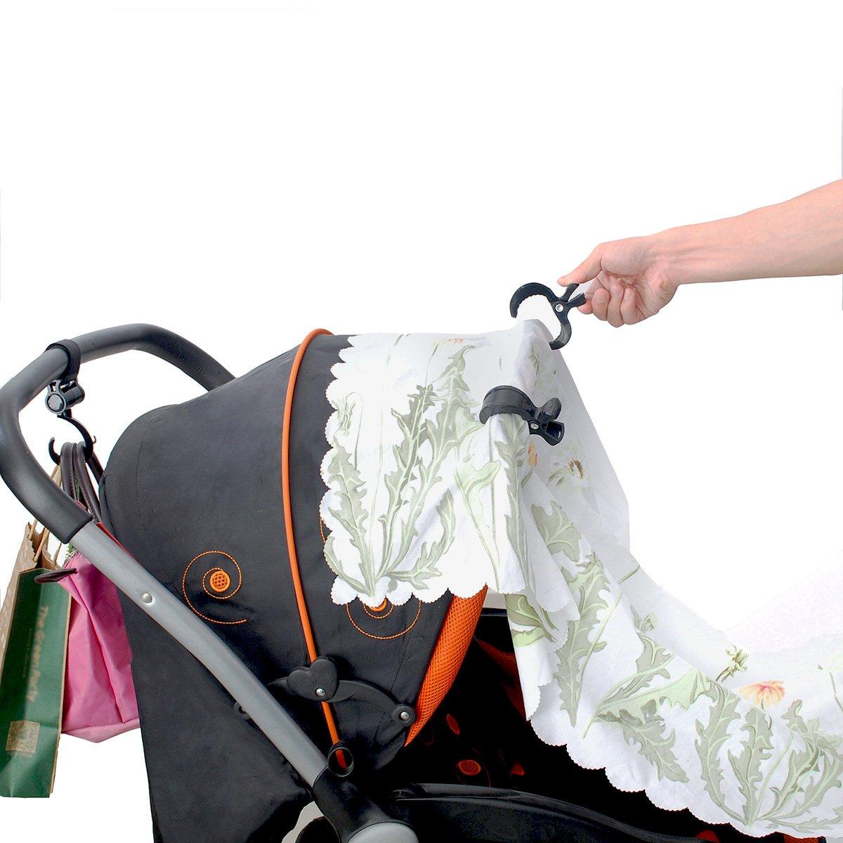 Luchild Universal Portavasos Carrito Beb/é Cochecito Bicicleta Portavasos universal con 360 grados de rotaci/ón para cochecitos o sillitas de beb/é