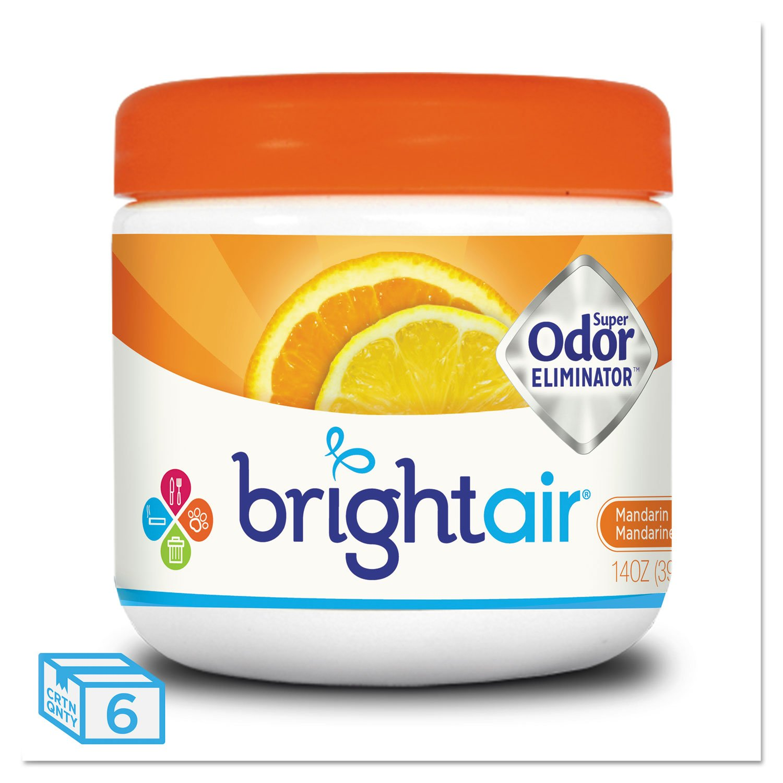 BRIGHT Air 900013CT Super Odor Eliminator, Mandarin Orange and Fresh Lemon, 14oz (Case of 6)