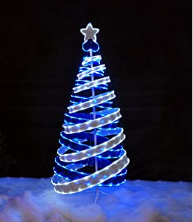 Outdoor Light Up Christmas Tree.6ft Spiral Christmas Tree Amazon Co Uk Kitchen Home