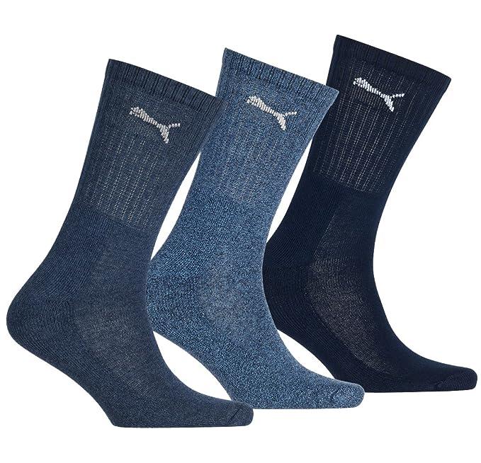 grey Puma Sport 3 Paar Socken anthracite