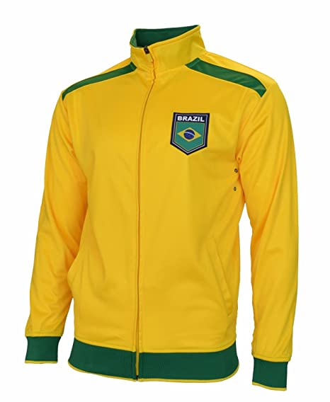 3d049c45ff5 Rhinox Brazil Jacket World Cup Adult Track Soccer Adult Sizes Football  (Small)