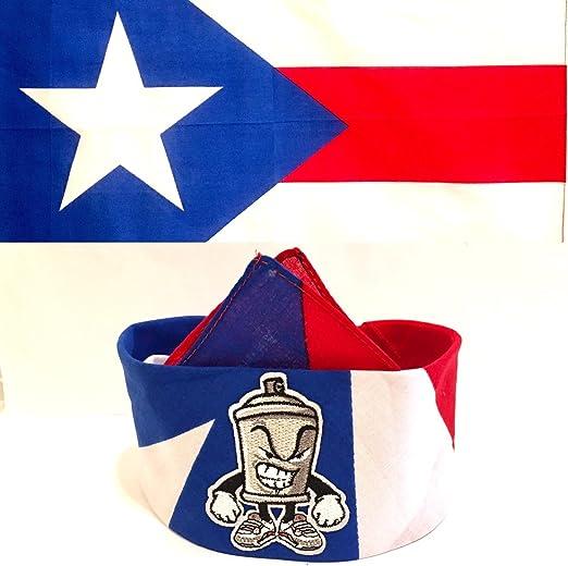 Desconocido Bandana Estilo Puerto Rico Bandanas 100% Algodón Mr ...
