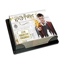 Harry Potter Desk Block 2019 Calendar - Page a Day Desk Bloc