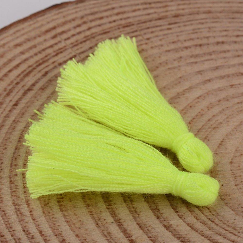 nbeads 1/Sac 39/~ 47pcs//Sac 25/~ 31/x 5/mm Coton Doux Tassel Tassel Pendentifs pour la Fabrication de Bijoux DIY Accessoires
