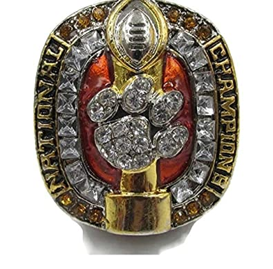 custom championship clemson rings ring tigers acc