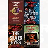 Five nights at freddy's series collection silver eyes, twisted ones 4 books collection set