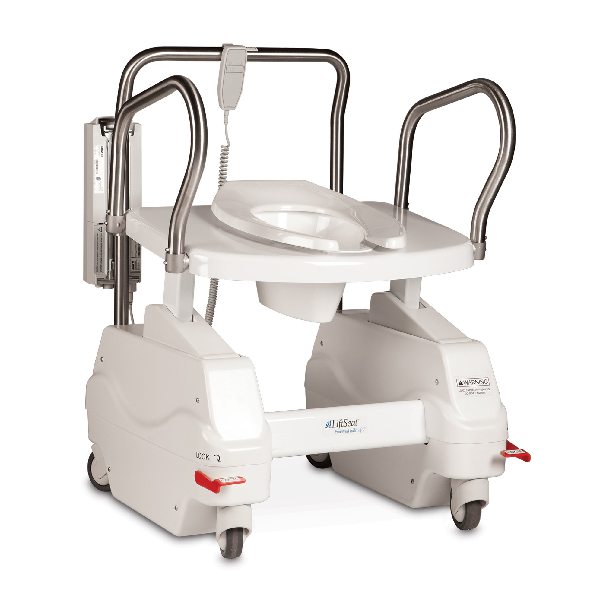 Bariatric LiftSeat 600 Commode and Toilet Lift - AC Powered