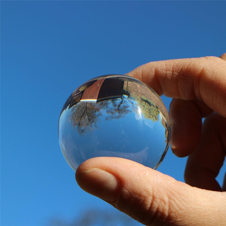 5 Pi/èces Balles Acryliques 8cm Diam/ètre Transparent Boule pour Accrocher Bastelkugel PLASTIQUE Remplir de Jardin Bricolage Ensemble No/ël Divisible Faire Vous-M/ême Gestalen D/écoration DArbre /à M/ême