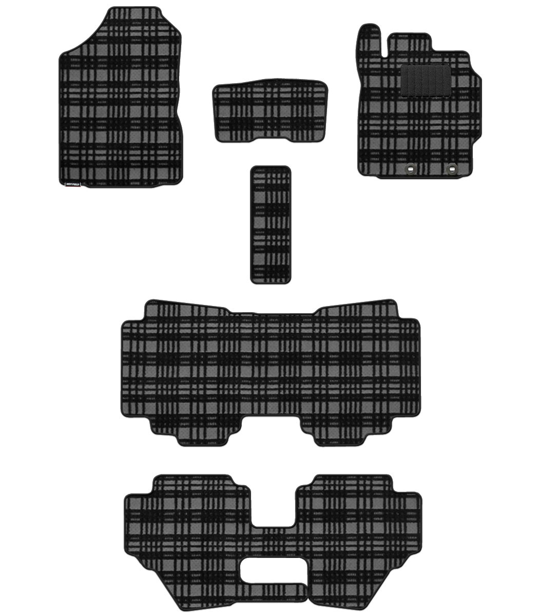 Hotfield トヨタ シエンタ フロアマット 新型 170G 175G ハイブリッド車/【標準仕様】 マドラスグレー B012UOKZIA ハイブリッド車/【標準仕様】|マドラスグレー マドラスグレー ハイブリッド車/【標準仕様】