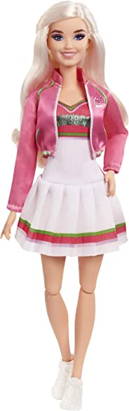 """Disney Zombies 2, Addison Wells Doll (11.5inch) Wearing Cheerleader Outfit and Accessories, 11 Bendable """"Joints,"""" Great Gift"""