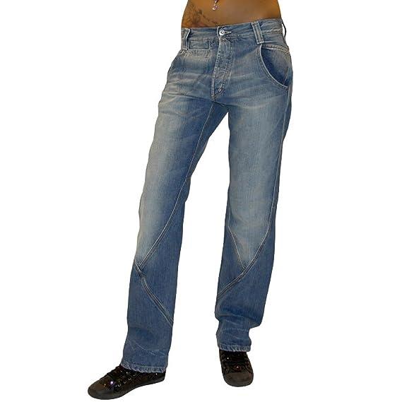 Jeans Pantaloni Jean Pour Femme Hip Baggy Met Hop Pantalon Design VSUpMz