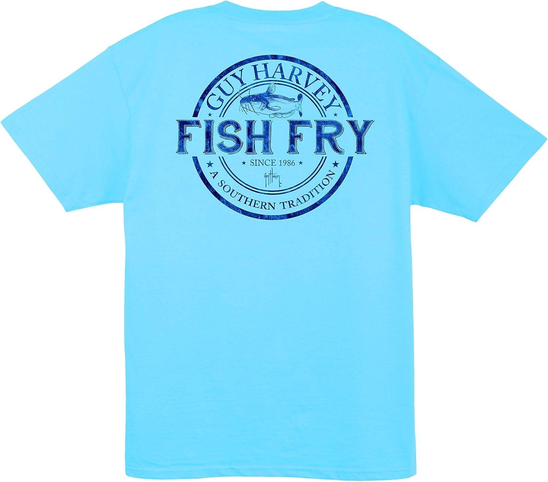 Guy Harvey Fish Fry S/S Pocket T-Shirt