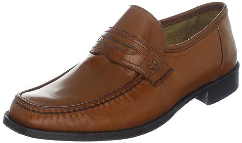 FRETZ men Torino 7630009234255 - Mocasines de cuero para hombre, color marrón, talla 44: Amazon.es: Zapatos y complementos