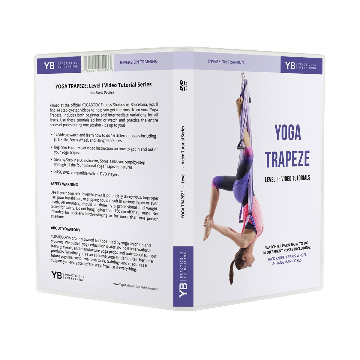 Amazon.com : YOGABODY Yoga Trapeze [Official] Video ...
