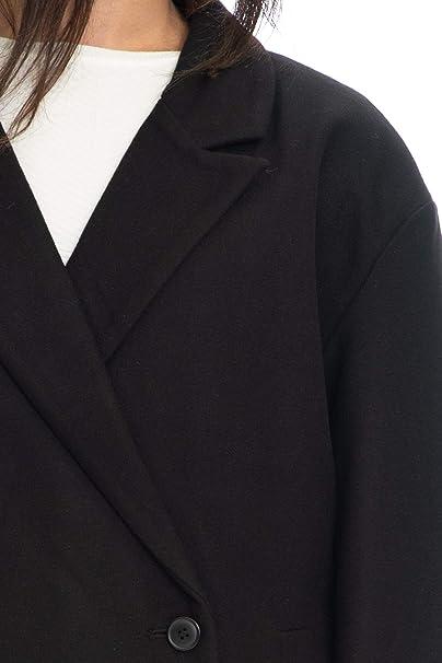 42e9cd2b4e Cheap Monday Cappotto Corto Donna Nero: Amazon.es: Ropa y accesorios