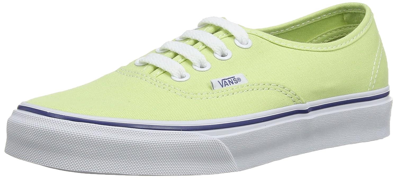 Vans Authentic Men's 4.5, Women's 6 Medium Shadow Lime/True White