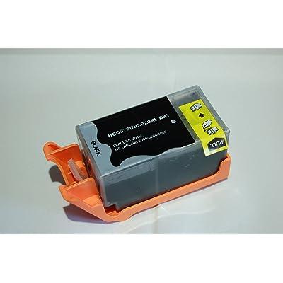 1 Haute Capacité 100% Compatible cartouche d'encre pour HP 920XL OfficeJet 6000 6500 6500A Plus 7500A Compatibles avec HP 920 xl CD975AE (1 Noir) (920XL Noir)
