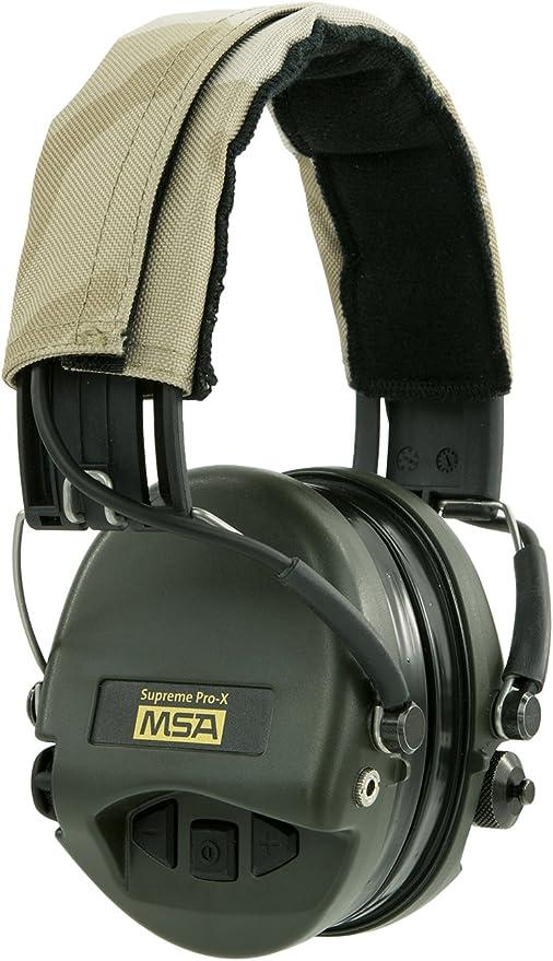 tasses noir gel Seals MSA Sordin Supreme Pro X électronique Protecteur d/'oreilles leatherband