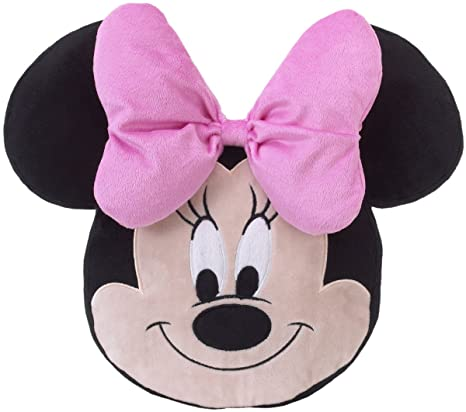 Amazon.com: Disney Minnie Mouse - Cojín decorativo para cuna ...