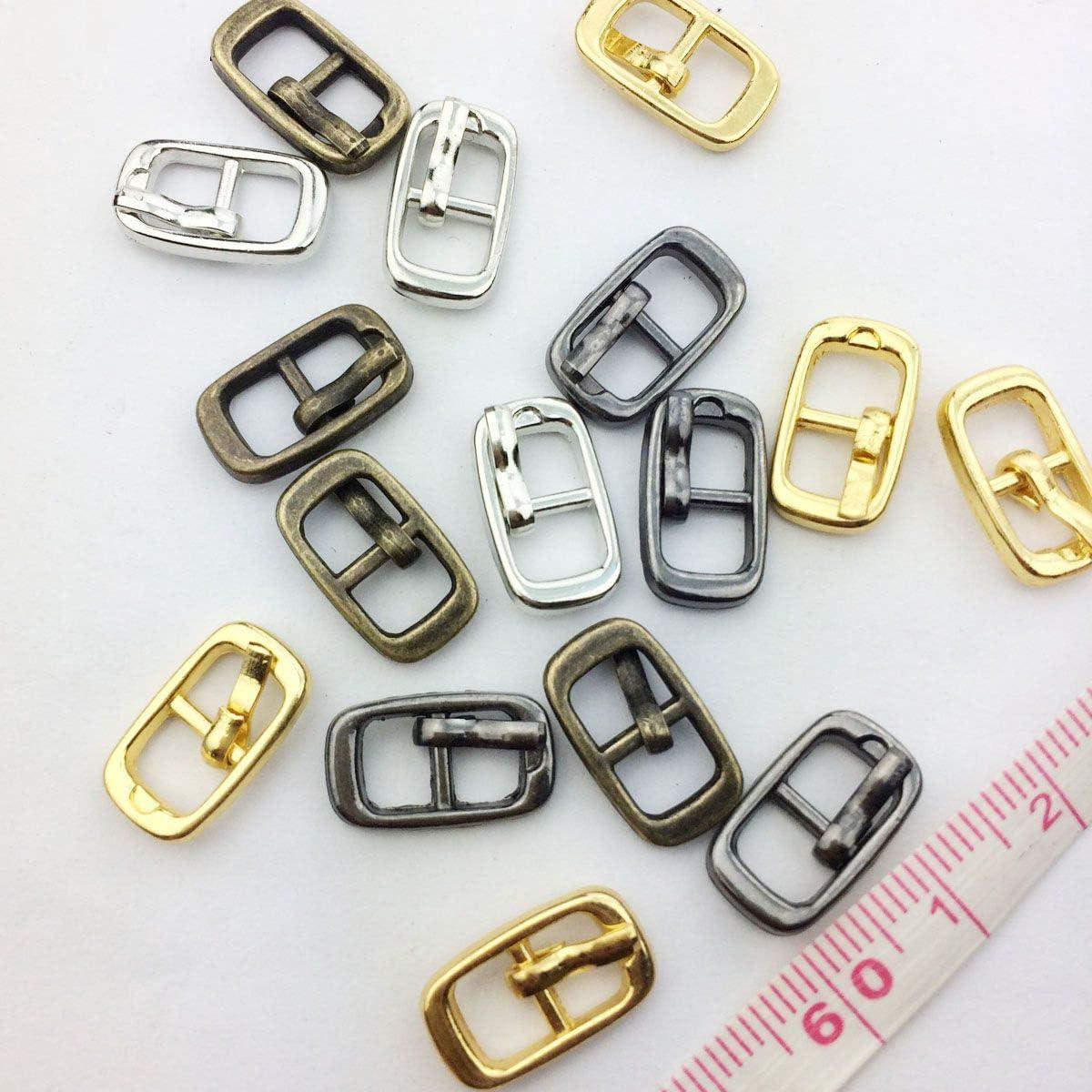 10pcs 4mm Diy buckle shoes accessories mini belt buckle for bjd blyth doll JB