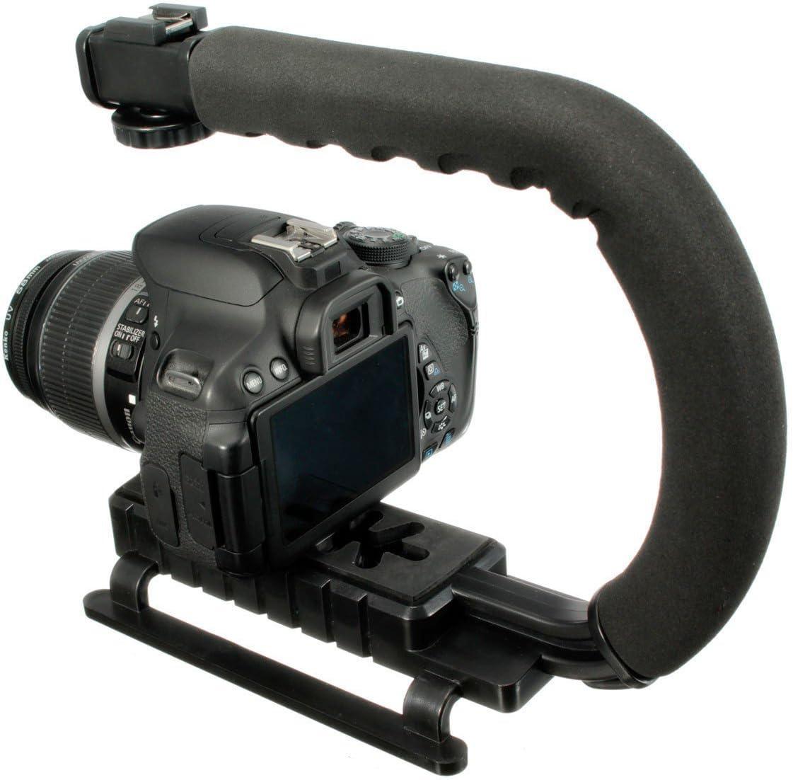 C Shape Hand Stand Handle Bracket Holder Stabilizer Grip for DSLR Camera Camcorder