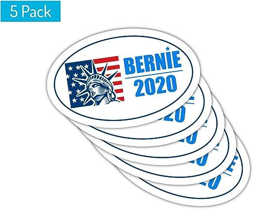 Bernie Sanders Vinyl Decal Bumper Sticker 5-Pack