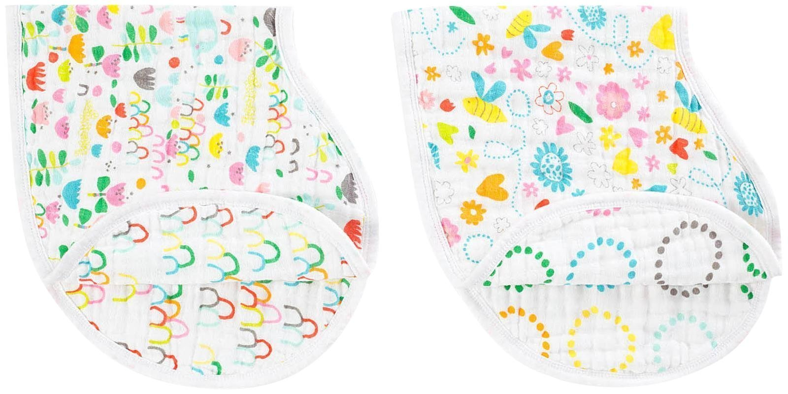 aden + Anais Zutano burpy bibs 2 pack, fair ground
