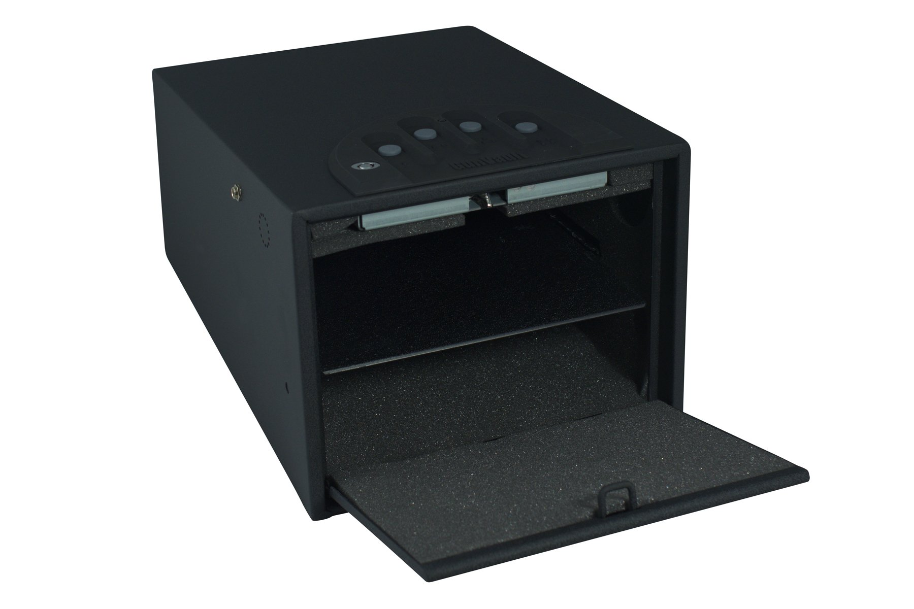 GunVault Deluxe Multi Vault Safe, 14'' x 10'' x 8'', Black