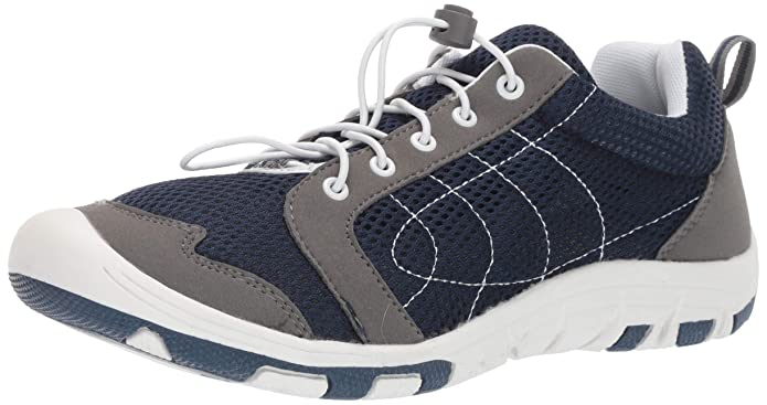 Mens Speed Lace Sandwich Mesh Rocsoc Navy/Grey