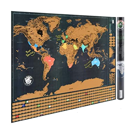 1 pcs landmass scratch off world map poster home decor wall art 1 pcs landmass scratch off world map poster home decor wall art craft paper vintage for gumiabroncs Choice Image