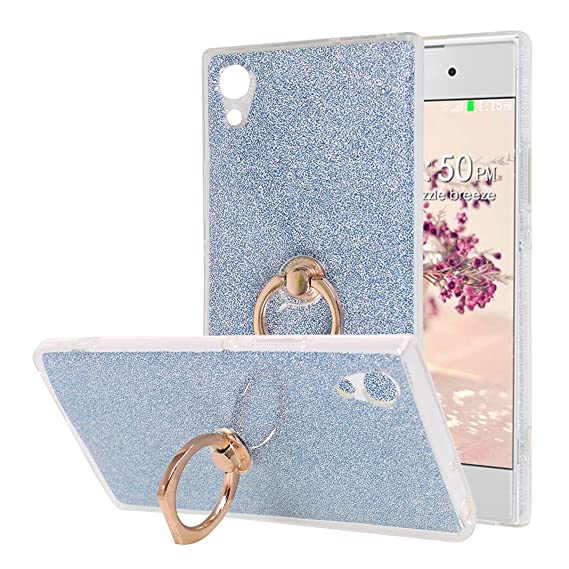 Amazon.com: Sony Xperia XA1 Ultra Back Case Cover with Ring ...