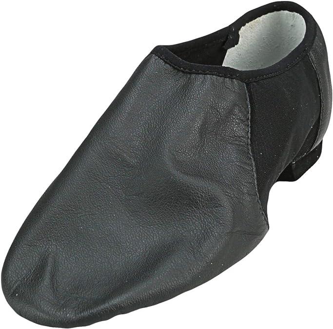 Choose SZ//color Details about  /Bloch Dance Men/'s Ultraflex Leather Slip On Jazz S