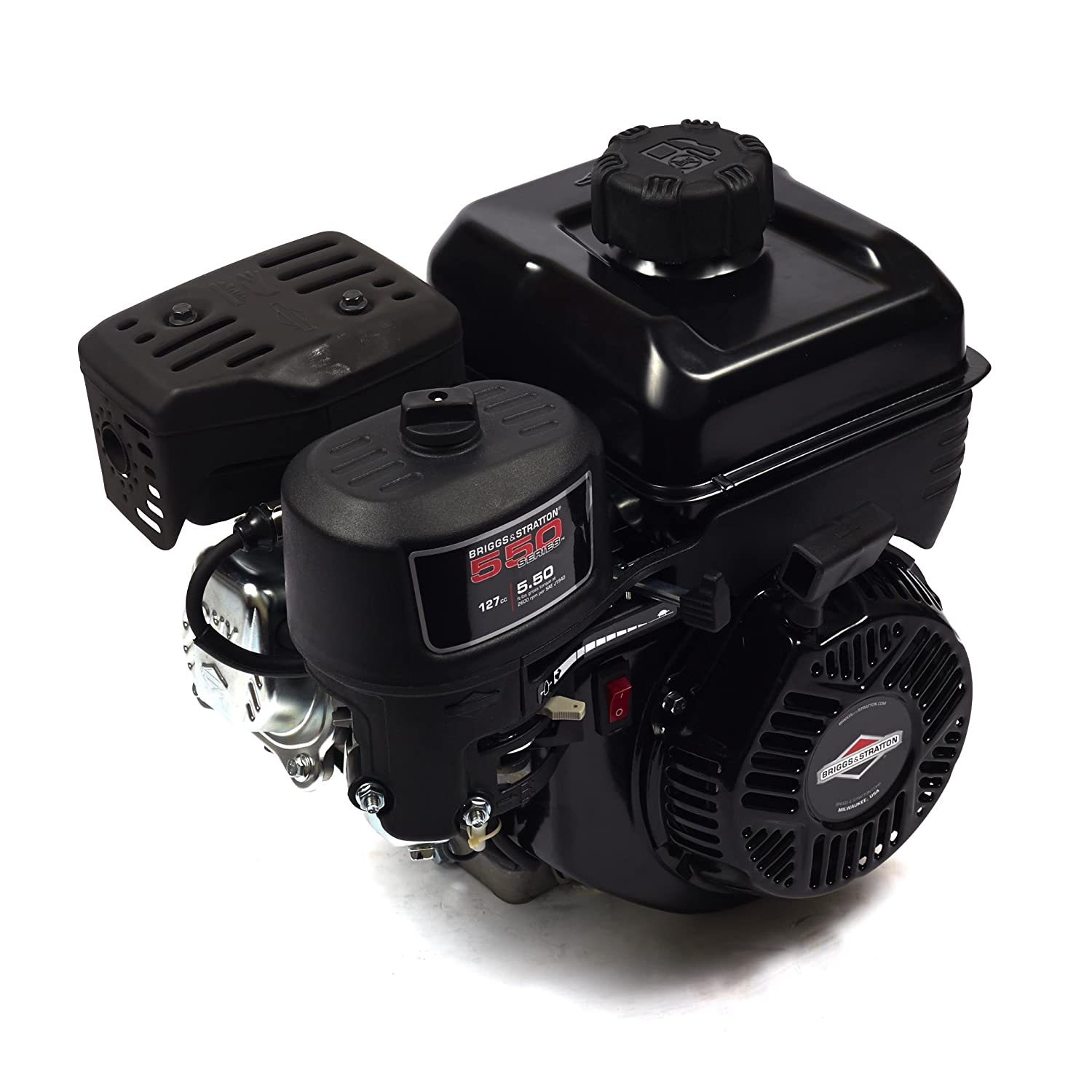 Briggs and Stratton 83152-1049-F1 550 Series 127cc Engine with 6:1 Gear Reduction