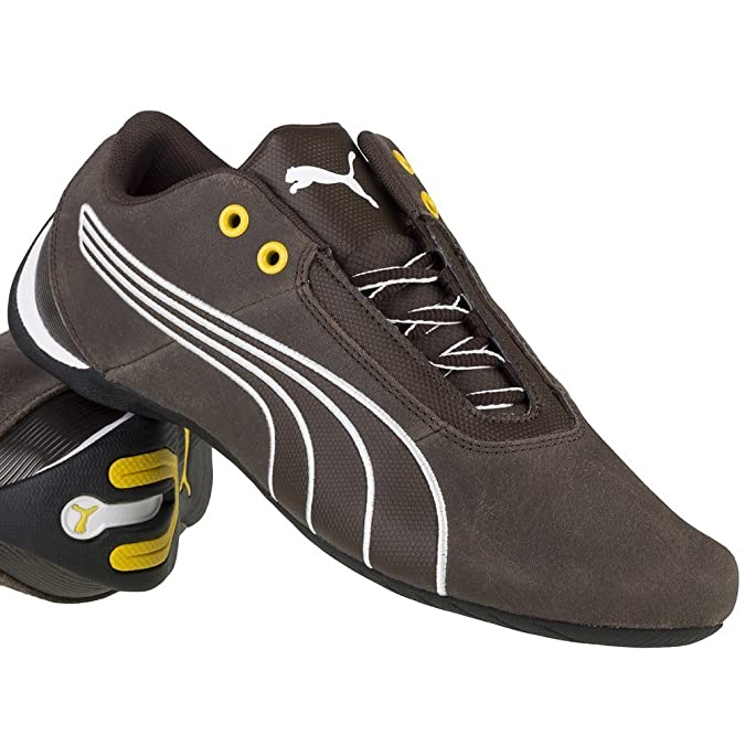 Puma - Future Cat S1 Leather - 30530404 - El Color Negro-Blanco-Marrón - ES-Rozmiar: 40.5 uVyDp
