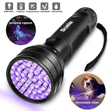 Uv Taschenlampe Schwarz Licht Super 51 Led Handheld Pet Hund Katze