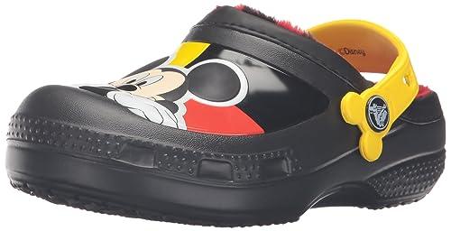 cc5a1beb3 Crocs CC Mickey Lined Clog (Toddler Little Kid)  Crocs  Amazon.ca ...