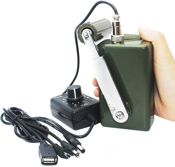 Portable High Power Hand-cranked Generator USB Charging Emergency ...