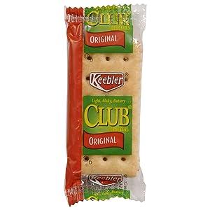 Keebler Club Crackers, Original, .25oz (300 Count)