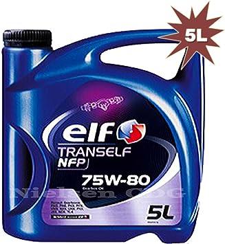 Elf - Trans pfn 75w80 aceite para engranajes tot-158489=5 litros