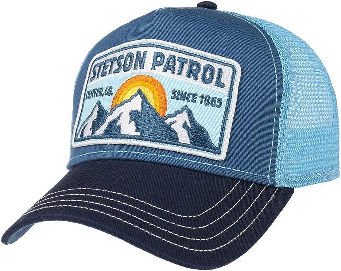 Stetson Gorra Trucker Patrol Mujer/Hombre - Snapback, con Visera ...