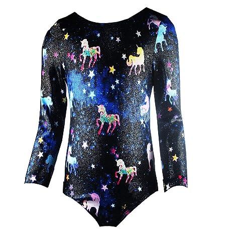 6855bce0af58 Amazon.com   Midout Tollder Girls Fancy Cute Gymnastics Leotards One ...