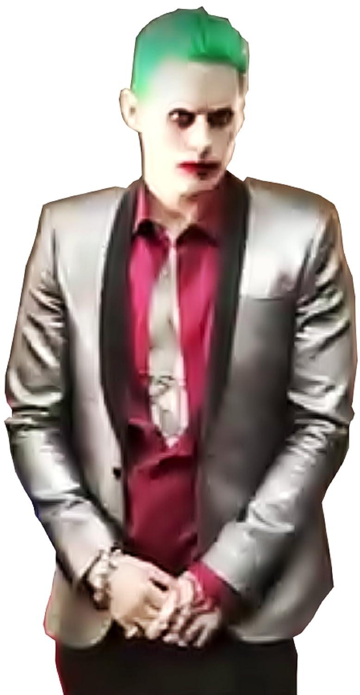 nueva gama alta exclusiva XX-Large (Tamaño XXL) Traje completo - Joker - Chaqueta Chaqueta Chaqueta - Camisa - Pantalones - Peluca de Cochenaval - Halloween - Juego - Batman - Suicide Squad - Jarojo - Película - Idea de regalo - Hombre - Niño - Adultos  promociones